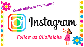 Oli oli Aloha オリオリアロハ Oli oli AlohaのInstragram Follow us